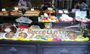 Bakery in Italy