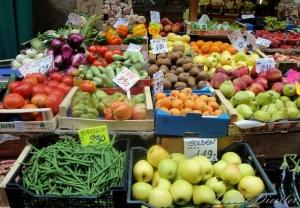 Farmers Market in Bologna, Italy