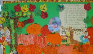 Pumpkin Art Watercolor and Pen