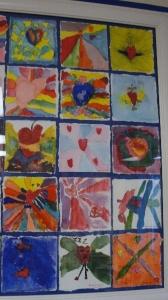 Water Color Heart Art