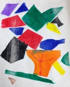 Colorful Mono Print