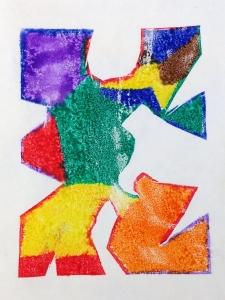 Puzzle Pieces Mono